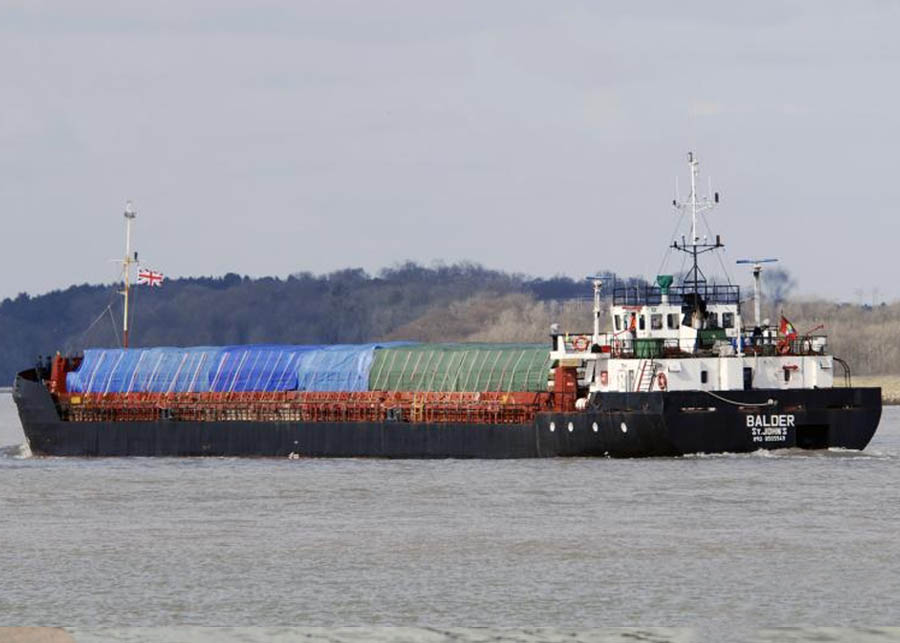 Универсальное грузовое судно Балдер (2000т)