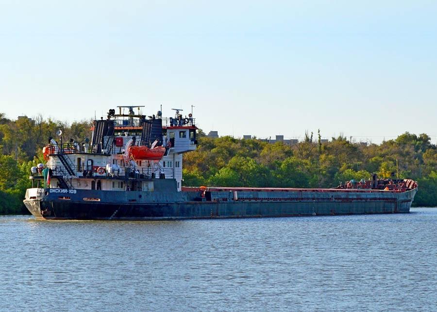 Универсальное грузовое судно Омский-109 (3000т)